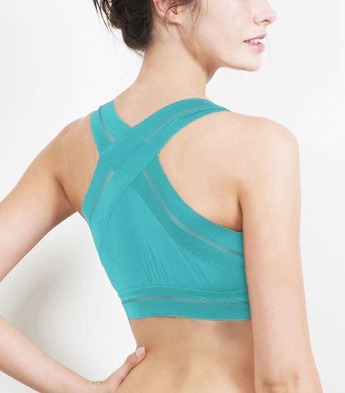 圖片 【SOFT LIGHT】「窕動美形」隱形無鋼圈胸罩-翠綠