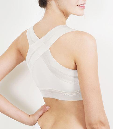圖片 【SOFT LIGHT】「窕動美形」隱形無鋼圈胸罩-白色