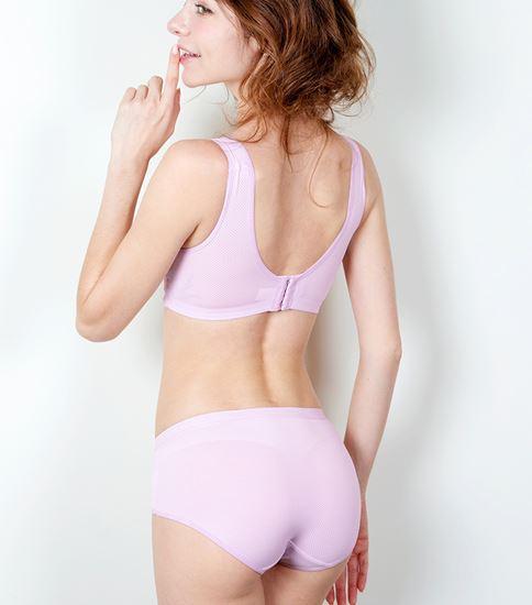 圖片 【SOFT LIGHT】「自遊著感」隱形無鋼圈胸罩組-粉色