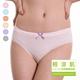 【SOFT LIGHT】「輕 涼 肌」創新無縫天然裸棉中腰三角褲(超值8件組)-美