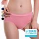 【SOFT LIGHT】「水漾美臀」創新無縫膠原蛋白中腰三角褲(超值8件組)-美