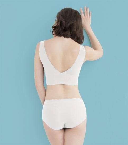 圖片 【SOFT LIGHT】「沁涼無痕」創新隱形貼合內衣-白色
