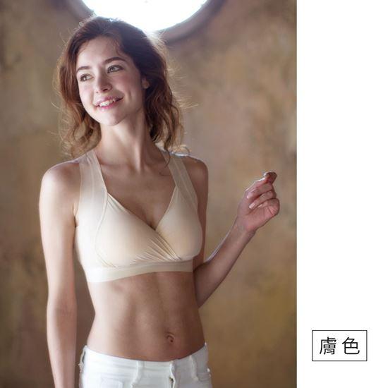 圖片 【SOFT LIGHT】「窕動美形」膠原蛋白創新隱形無鋼圈胸罩(超值五件組)