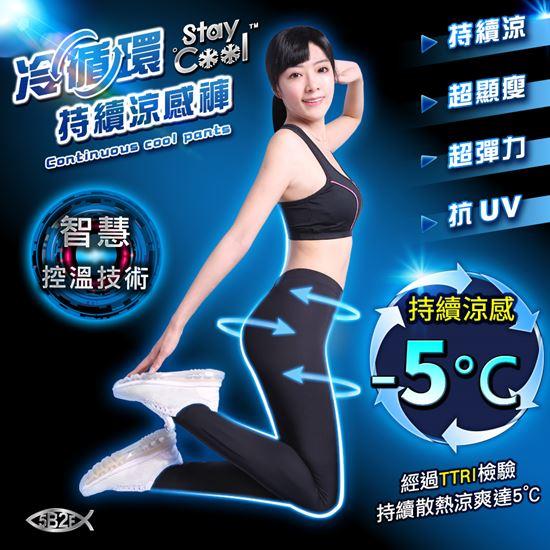 圖片 5B2F【五餅二魚】冷循環持續涼感褲