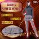 5B2F【五餅二魚】鎖鏈紋雙層蛋糕裙襬長褲