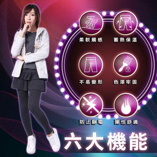 圖片 5B2F【五餅二魚】方菱紋假兩件長褲