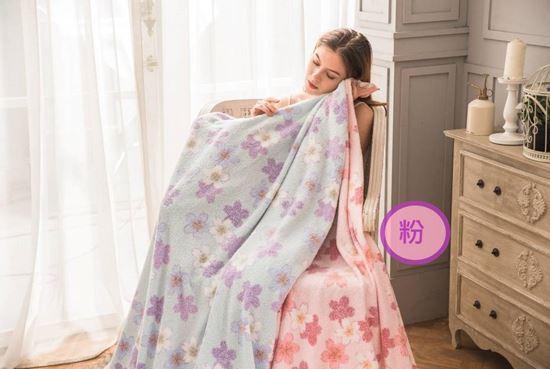 圖片 日本製純棉涼感毛巾被(粉色)