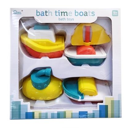 【GCT玩具嚴選】寶寶玩水小船組 玩水 戲水玩具 小船 寶寶 安全玩具