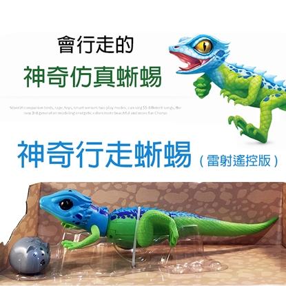 【GCT玩具嚴選】神奇行走蜥蜴 雷射遙控版