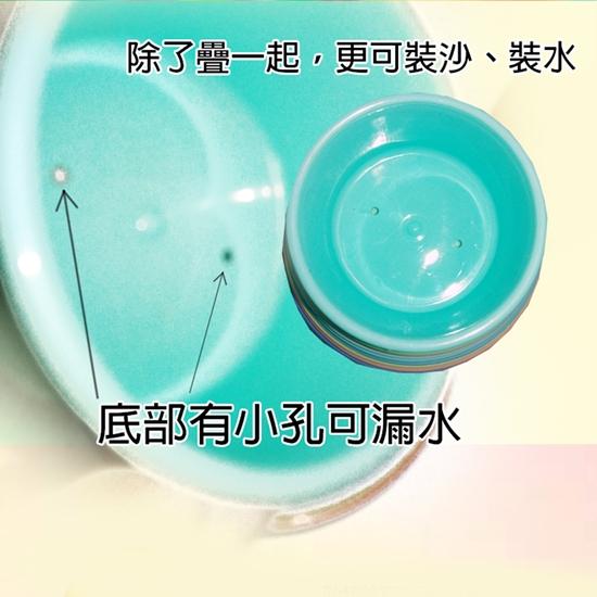【GCT玩具嚴選】噴水鴨鴨疊疊樂 寶寶洗澡玩具 玩沙 疊疊樂