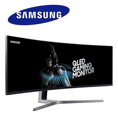圖片 【結帳享優惠】Samsung三星 C49HG90DME 49型32:9 VA曲面量子點電競螢幕