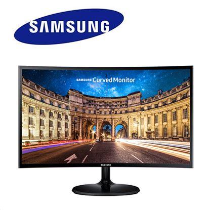圖片 【結帳享優惠】SAMSUNG三星 C27F390FHE 27型VA曲面低藍光不閃頻液晶螢幕