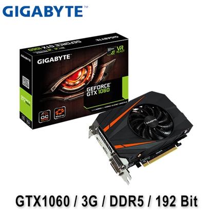 GIGABYTE 技嘉 GTX1060 Mini ITX OC 3G 顯示卡