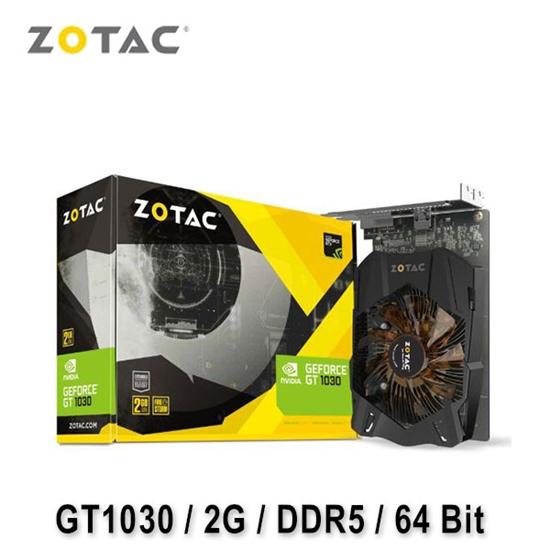 圖片 ZOTAC 索泰 GeForce GT 1030 2GB 顯示卡