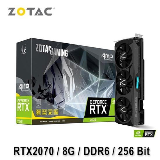 圖片 ZOTAC 索泰 GAMING GeForce RTX 2070 AMP Extreme Core 顯示卡
