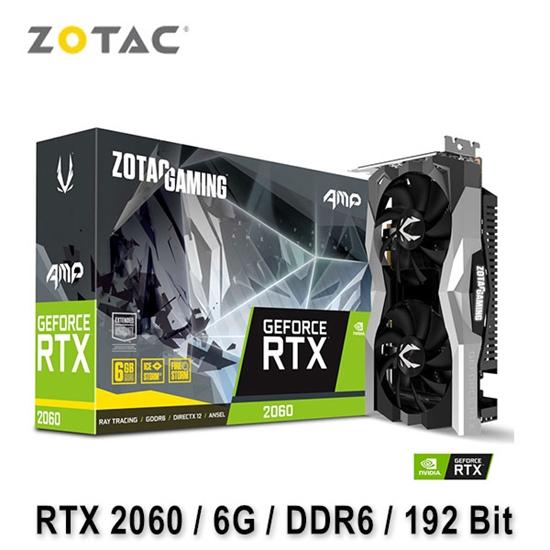 圖片 ZOTAC 索泰 GAMING GeForce RTX 2060 AMP 顯示卡