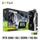 ZOTAC 索泰 GAMING GeForce RTX 2060 Twin Fan 顯示卡
