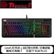 Thermaltake曜越 Level 20 櫻桃 MX 機械式青軸電競鍵盤-黑色
