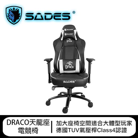 圖片 SADES賽德斯 DRACO 天龍座 真人體工學 總冠軍賽指定電競椅