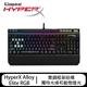 金士頓 HyperX Alloy Elite RGB 電競鍵盤(青軸/紅軸/茶軸)