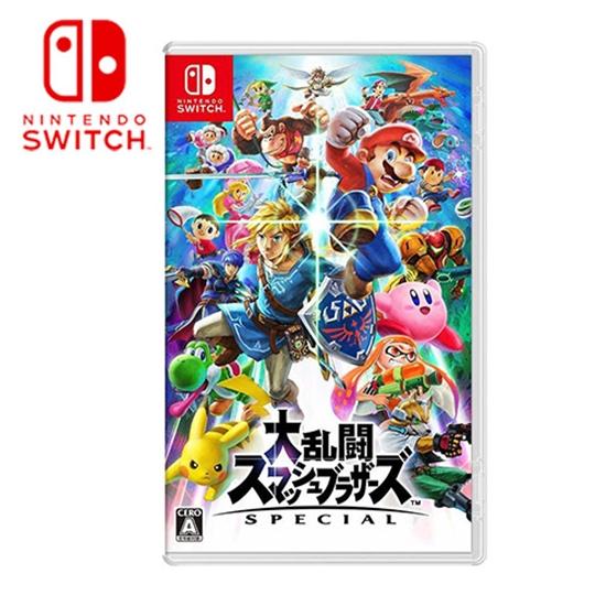 圖片 Nintendo Switch 任天堂-遊戲 任天堂明星大亂鬥 特別版–中文版