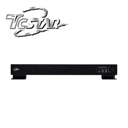 T.C.STAR 連鈺 TCS2209 一體式/長條型/外接耳麥 USB多媒體喇叭