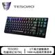 TESORO鐵修羅 剋龍劍幻彩TKL 80%機械式鍵盤(青軸) 黑色