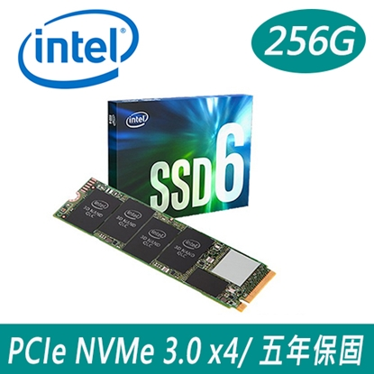 Intel 660p 256G M.2 PCIe SSD固態硬碟