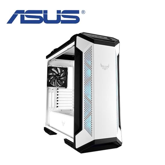 圖片 ASUS華碩 TUF Gaming GT501 玻璃透側機殼 (白色)