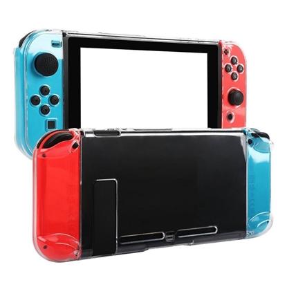 【任天堂 Switch】任天堂Switch全包透明水晶保護殼