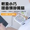 圖片 【AS 亞設】頸掛摺疊USB隨身風扇(摺疊手機支架、掛脖懶人風扇)-(AS-F30)