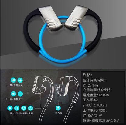 圖片 aGOODS6耳掛式藍芽耳機