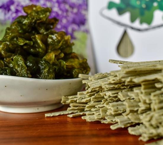 圖片 沁園雨來菇藻健康活力麵(藍綠藻麵)-電