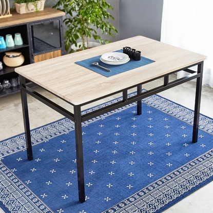 圖片 【H&D】LEVI李維工業風個性鐵架餐桌
