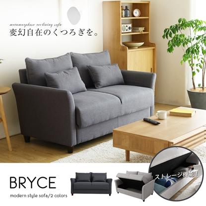 圖片 【H&D】布萊斯收納雙人沙發/布沙發/-2色