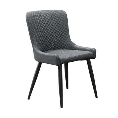 圖片 【H&D】協喜銀灰色皮餐椅