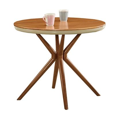圖片 【H&D】幻蕊木紋色3尺圓桌