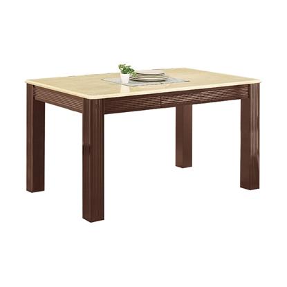 圖片 【H&D】大谷4.3尺石面胡桃餐桌