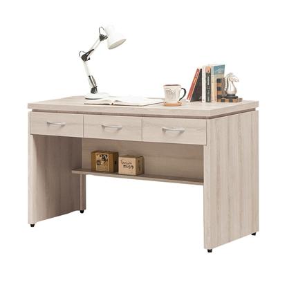 圖片 【H&D】艾瑪4尺三抽書桌