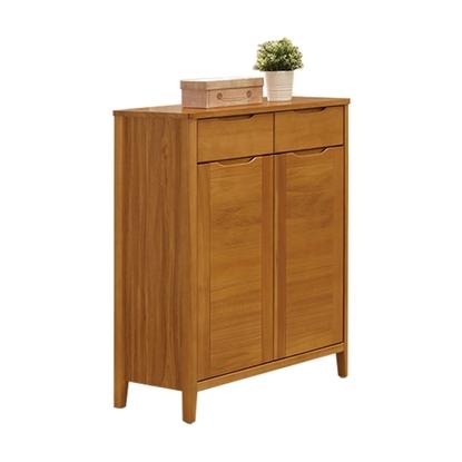 圖片 【H&D】米堤柚木色2.7尺鞋櫃
