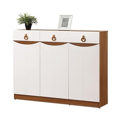 圖片 【H&D】米勒4尺白色鞋櫃