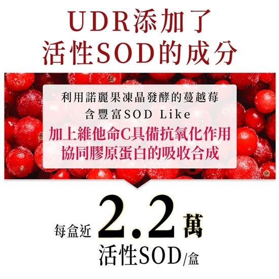 圖片 UDR專利特濃晶鑽燕窩膠原蛋白粉X6盒