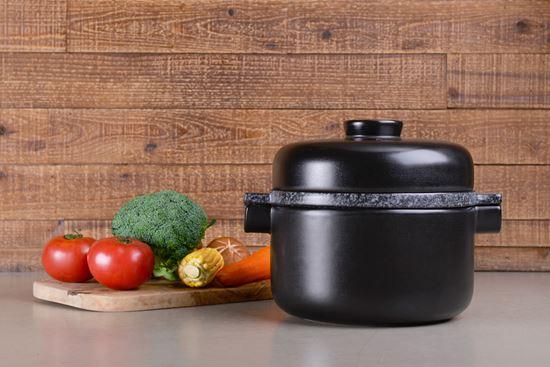 圖片 【草地狀元 】五福窯-耐熱蒸煮鍋