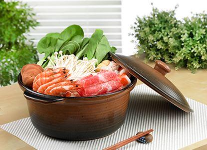 圖片 【草地狀元 】五福窯-養生湯燉鍋(302)/4000cc/附陶蓋