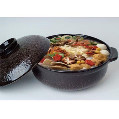 圖片 【草地狀元 】五福窯-養生陶鍋(508-11)/6500cc/附陶蓋