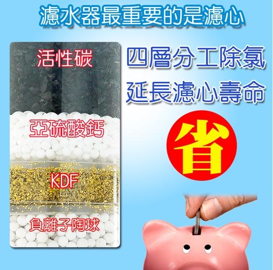 圖片 SMS濾氯去除氯沐浴器