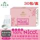 【美陸生技】100%日本NICO魚鱗膠原蛋白30包/盒(經濟包)