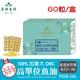 【美陸生技】100%加拿大ONC高純度TG型魚油60粒/盒(經濟包)