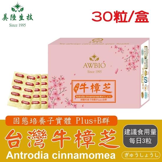圖片 【美陸生技】台灣牛樟芝精華素膠囊30粒/盒(經濟包)