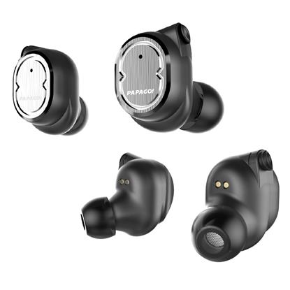 圖片 PAPAGO W1 真無線觸控藍牙耳機-黑